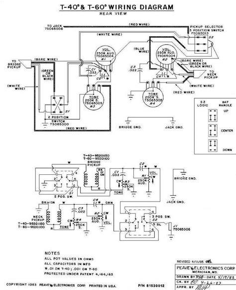 peavey t 60 scale wiring diagrams wiring diagrams