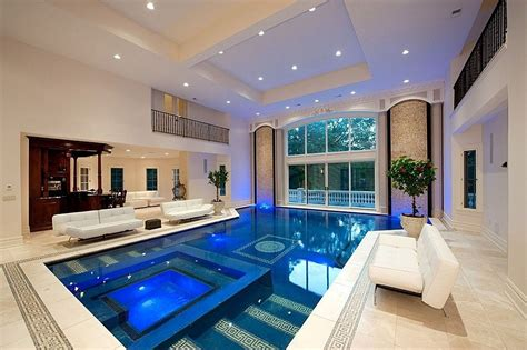 inspiring indoor swimming pool design ideas  luxury