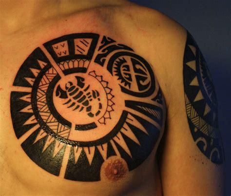 maori tattoo chest tattoo love