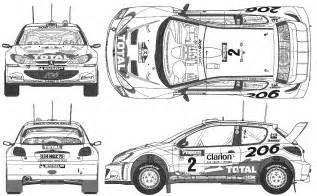 Bug Report Template peugeot 206 wrc 1999 racing cars