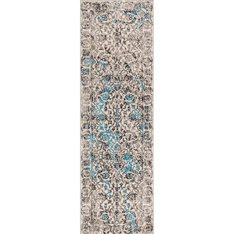 well woven sydney vintage sheffield blue 3 ft well woven sydney vintage sheffield blue 2 ft 3 in x 7 ft 3 in traditional runner 22842