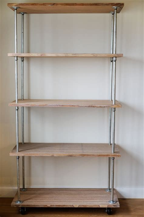 industrial shelving diy industrial columbus by julie