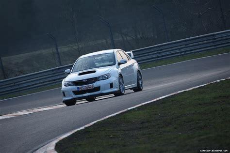video  subaru impreza wrx sti test car laps  nurburgring   faster