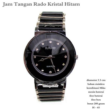 Jam Tangan Hitam harga jam tangan wanita rado hitam fullset harga me