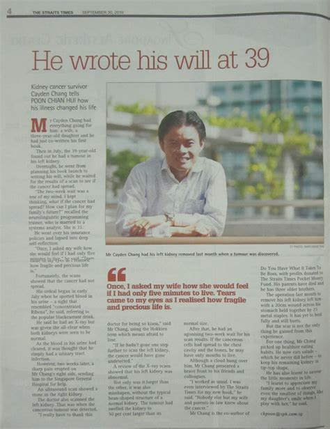 straits times obituary section trainer s profile quot nlp singapore quot