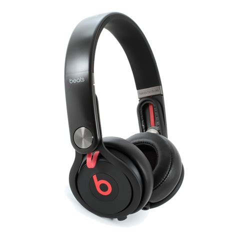 Beats Mixr Headphone disc beats mixr on ear headphones black at gear4music