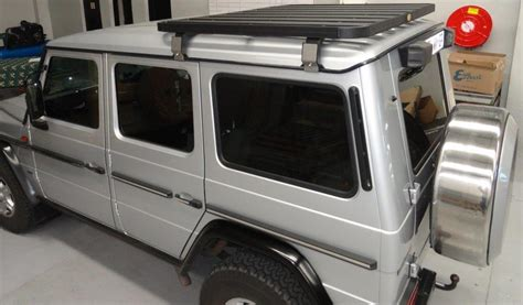 G Wagon Roof Rack by Roofrack Mercedes G Wagon Half Length Big Country 4 215 4
