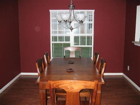 maroon wall paint maroon kitchen pictures good sized dining room with a