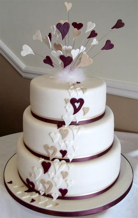 wedding pictures wedding photos wedding cake decorating wedding cake with purple hearts