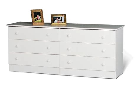 drawers home and home furniture on pinterest prepac white edenvale 6 drawer dresser home furniture