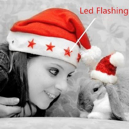 Topi Santa Anak Anak jual topi santa natal chritmas lu nyala led barang unik