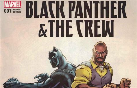 black panther the crew we are the streets el comic black panther and the crew es cancelado geeky