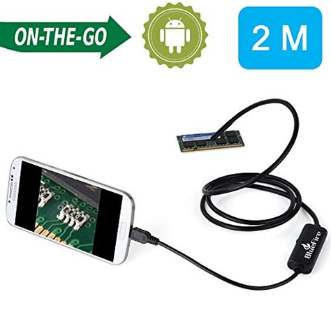 Android Endoscope Ip67 Waterproof For Hitam 1280x480 7mm bluefire 7mm android endoscope usb borescope ip67 waterproof inspection snake 2m