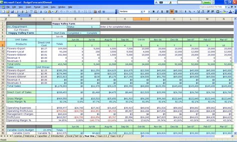 template project management work plan template excel