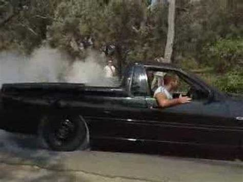 vs ss ute burnout youtube