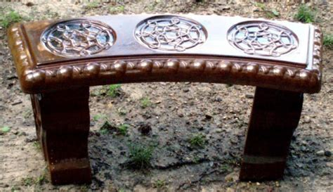 celtic bench benches and tables