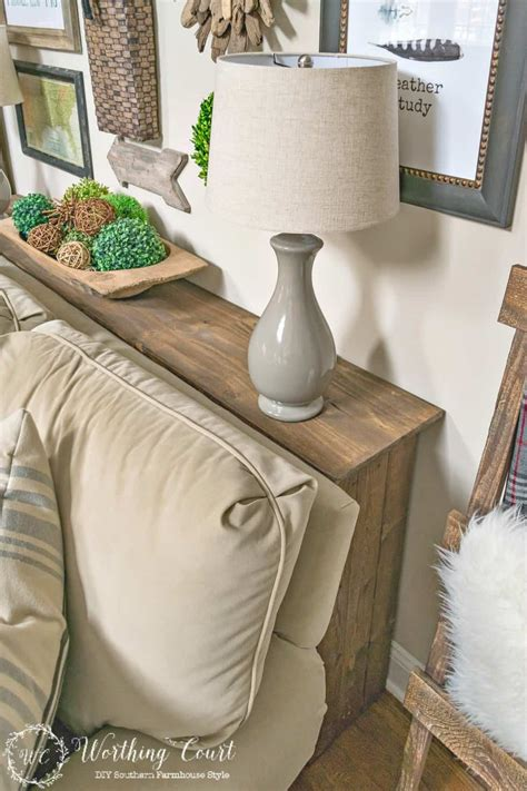 Sofa Table Against Wall by One More Problem Solved In My Family Room How To Build A