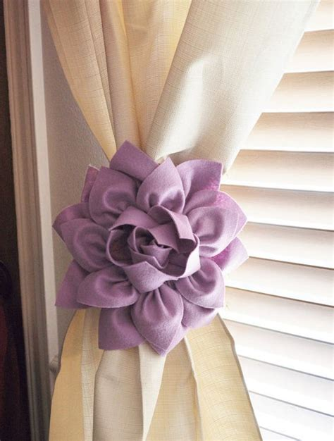 bedroom ties two dahlia flower curtain tie backs curtain tiebacks