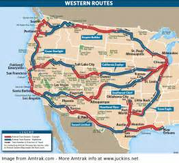 Amtrak train routes with other amtrak routes