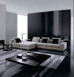 black and white modern living room design ideas modern