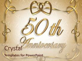 Powerpoint Template Design For 50th Wedding Anniversary Cgbbebc 50th Anniversary Powerpoint Template