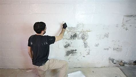 paint walls faster by starting on the left if you re right waterproofing basement walls with drylok paint home