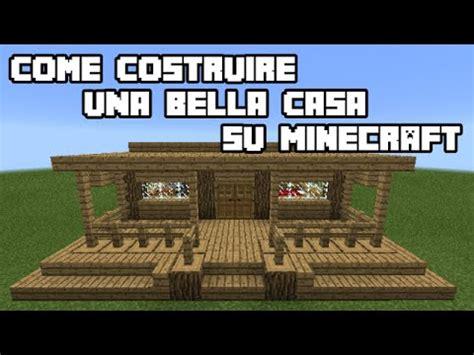 Su Minecraft by Come Costruire Una Casa Su Minecraft Tutorial