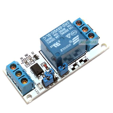 Module Isolated Relay 8 Channel Dengan Photocoupler 1 channel relay opto isolated โมด ล ร เลย 1 channel 5v