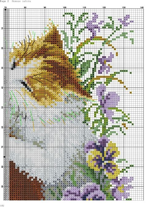 molde de gatos en punto de cruz 3 jpg 685 best k 228 sity 246 mallit images on pinterest cross stitch