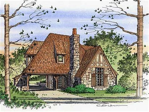 english cottage style house plans plan w4614pr romantic english style cottage e architectural design