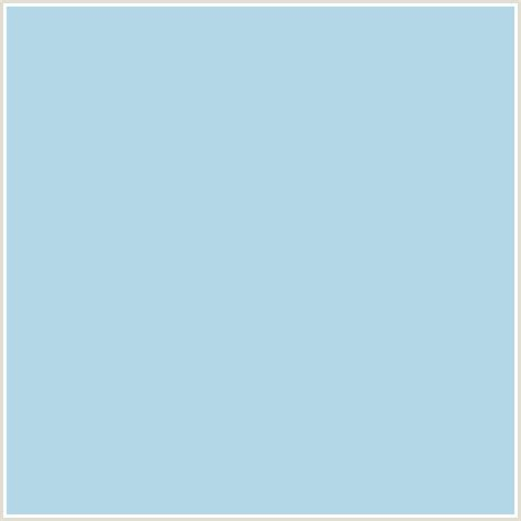 pale blue color b4d8e7 hex color image baby blue light blue albastru