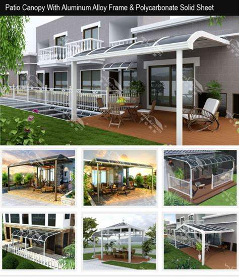 Patio Covers With Arches Waterproof Aluminum Arch Canopy Patio Covers Buy Alumium