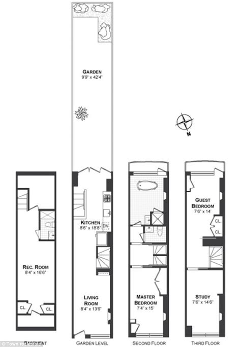 long narrow house floor plans long narrow house plans hľadať googlom dispozicky
