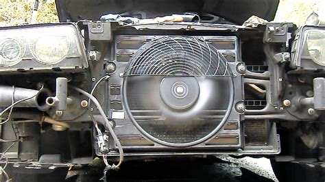bmw    auxiliary fan test    bad