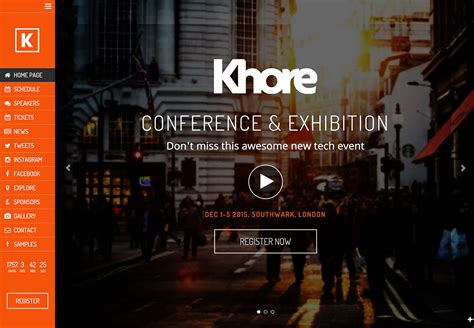 conference themes exles nice free wordpress themes for events illustration
