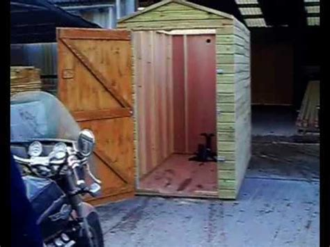Floor Plans For Garages by Motorbike Garage Youtube