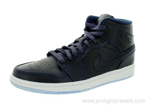 navy and white basketball shoes efzs6401215 australia nike air 1 mid