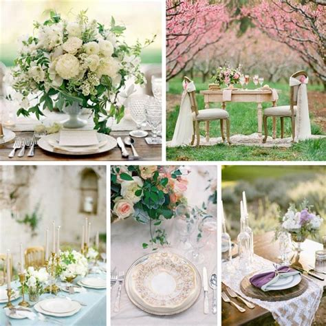 wedding tablescapes stunning spring wedding table decorations chic vintage