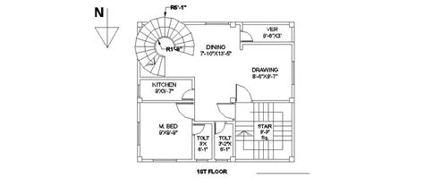 engineering floor plan civil engineering floor plans of building 27 ftx24 ft