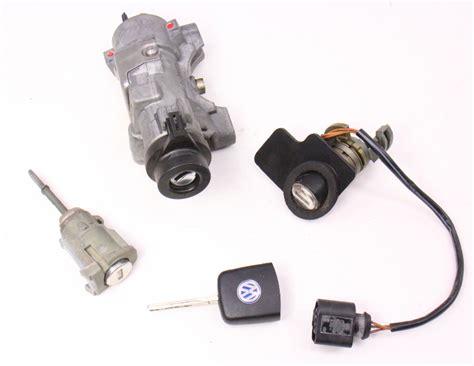 Auther Paket Handle Wagon R Chrome 1 lock set key ignition housing door handle 01 05 vw passat b5 5 4b0 905 851