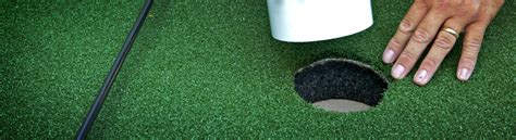 guide to build a putting green diy putting green