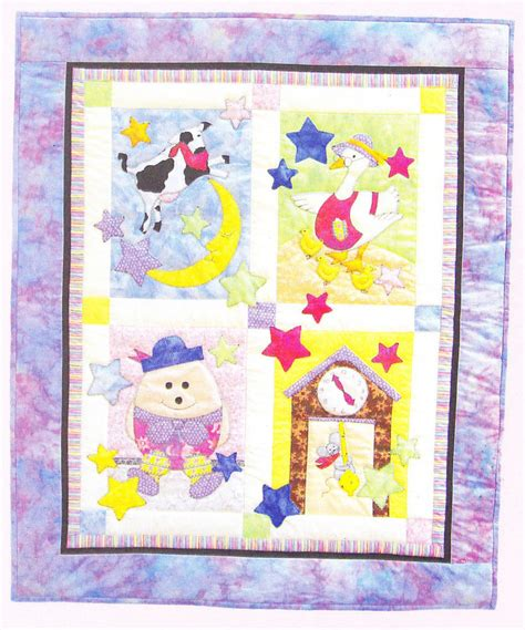 cute quilt pattern fairy tale baby quilt cute applique pieces quilt