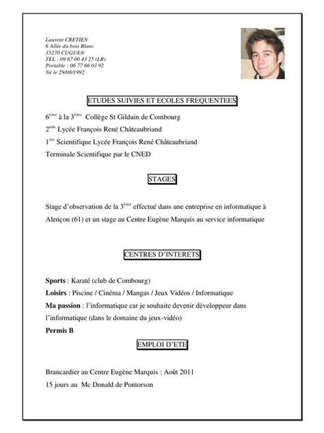 Lettre De Motivation De Brancardier Exemple Cv Brancardier Gratuit Cv Anonyme