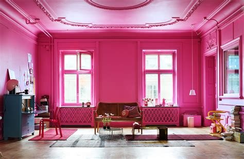 hot pink rooms 10 amazing pink living room interior design ideas https