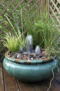 Garden Water Fountains Create Your Own Container Water Garden Town Country Living