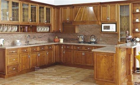 different kinds of kitchen cabinets مطابخ أمريكية تصاميم حديثة