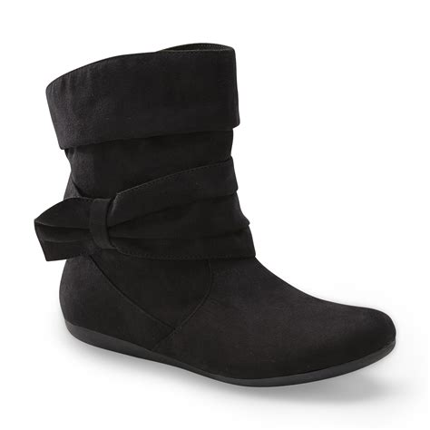 bongo boots bongo s clybourne slouch ankle boot black shoes