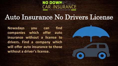 Cheap Car Insurance Drivers No Box by Cheap Car Insurance Without Drivers License About