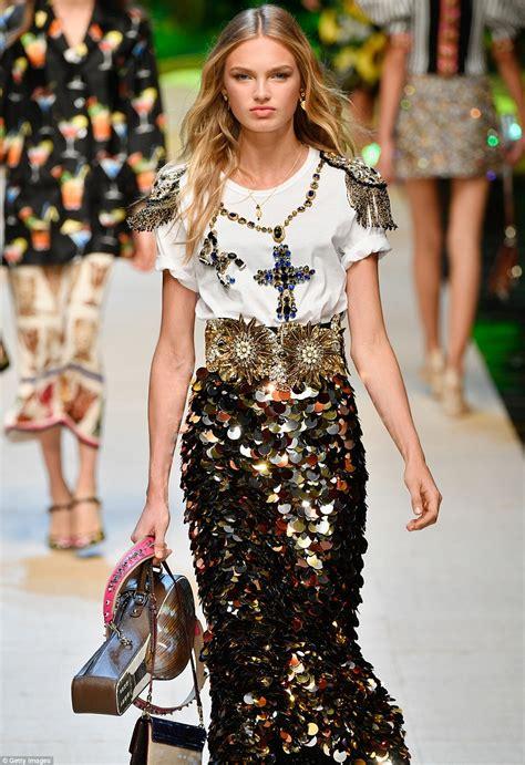 sofia richie attends dolce gabbana s milan fashion week show daily mail