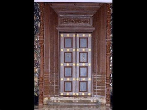 indian home door design catalog tamil nadu wooden main door design 2 youtube